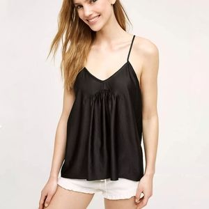 Anthropologie Harlyn NWT Tie Strap Cami Blouse